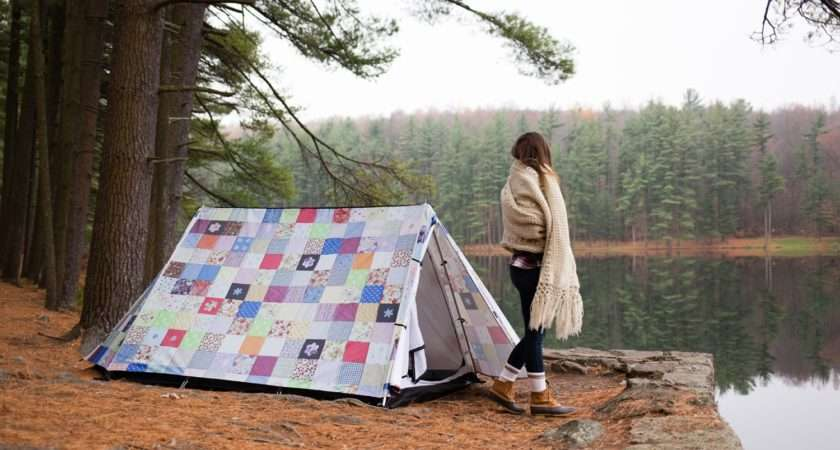 Patchwork Quilt Design Camping Tent Beautiful Tents