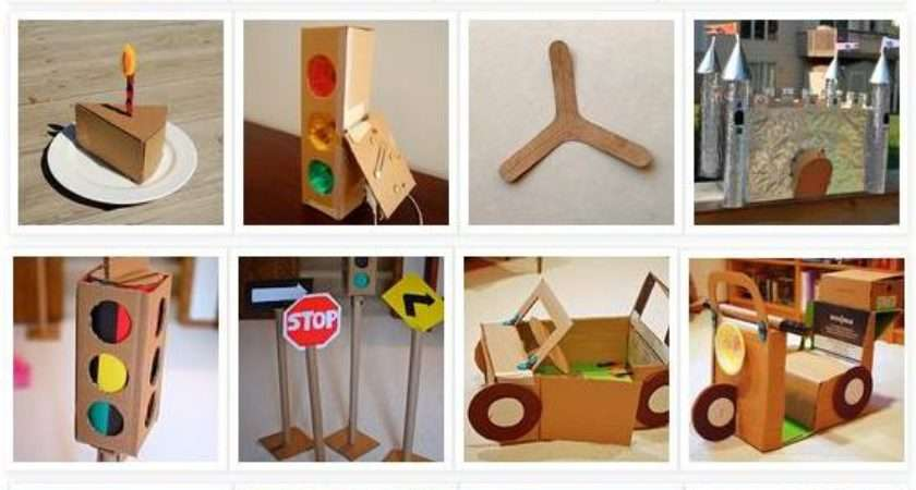 Patent Pending Projects Cardboard Craft