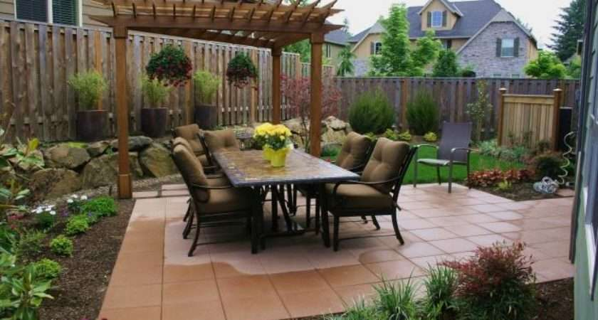 Patio Ideas Small Spaces Home Style
