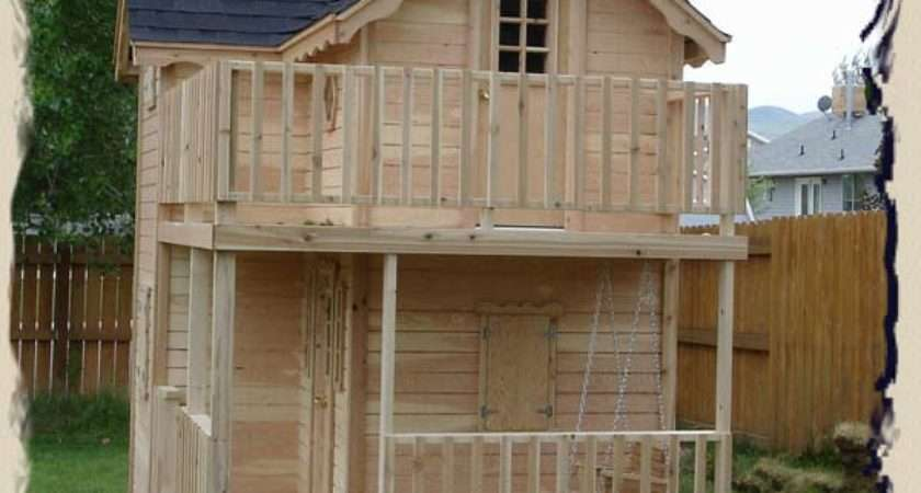 Pdf Diy Elevated Outdoor Playhouse Plans Easy