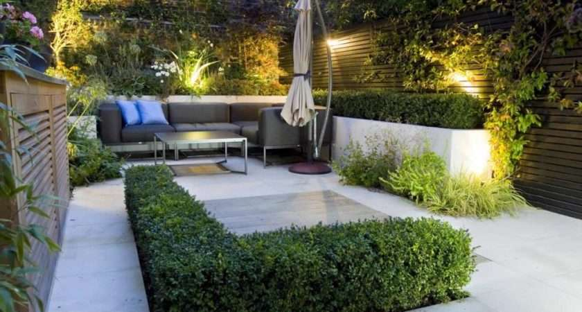 Peaceful Small Garden Landscape Design Ideas