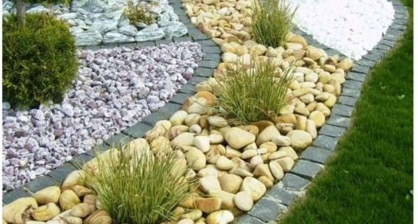 Pebbles Used Landscaping Google Search Garden