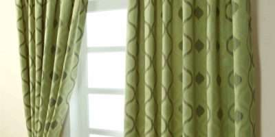 Pencil Pleat Jacquard Curtains Modern Wave Fully Lined