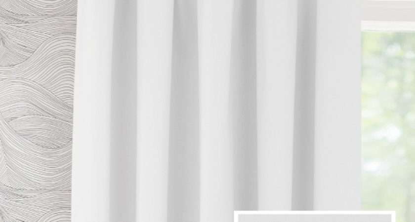 Pencil Pleat Ready Made Curtains Wilton Cotton