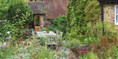 Perfect Country Garden Patio Design Ideas