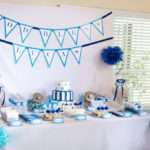 Perfect Party Decoration Ideas Baptism Boy