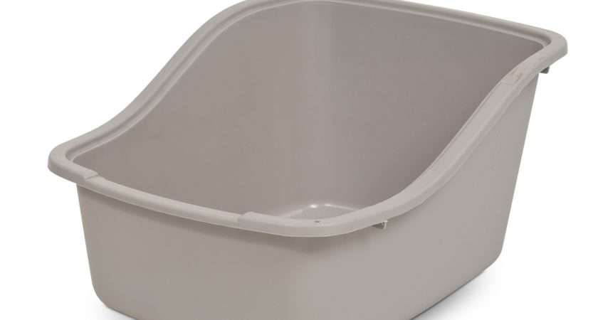 Petmate High Back Cat Litter Tray Helps Reduce Scatter