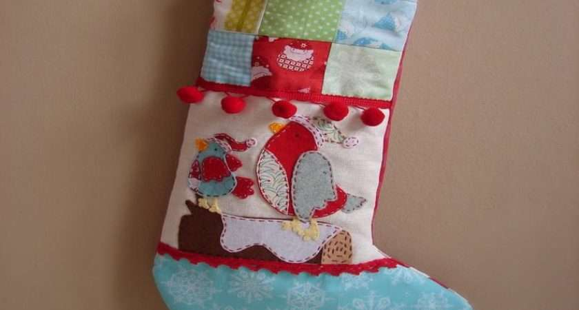 Photos Felt Stockings Decorating Ideas