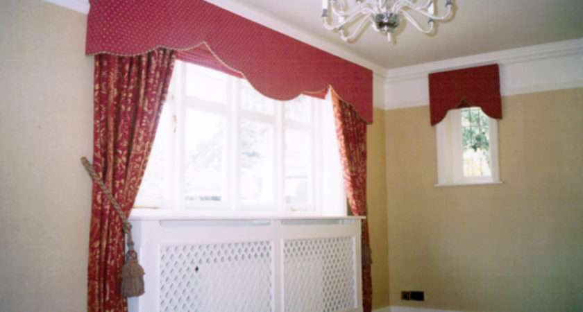 Pin Bay Window Curtains Pelmets Pinterest