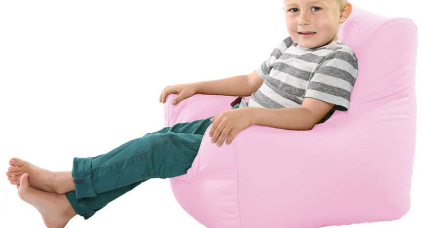 Pink Beanbags Comfy Toddler Armchair Baby Beanbag Chair