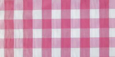 Pink Check Checked White Woven Curtain Light Upholstery Fabric Ebay