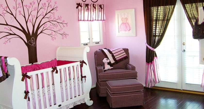 Pink Color Girl Baby Room Ideas Decorate