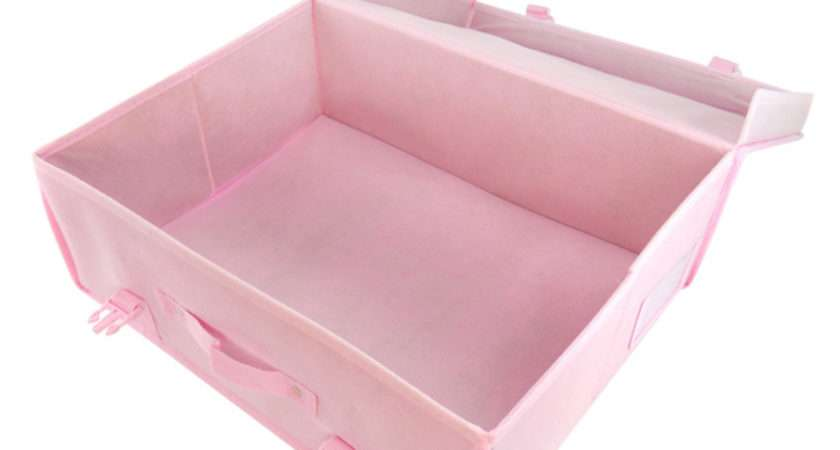 Pink Garment Storage Boxes Hangerworld