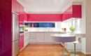 Pink Kitchen Decorating Ideas Elegant Style