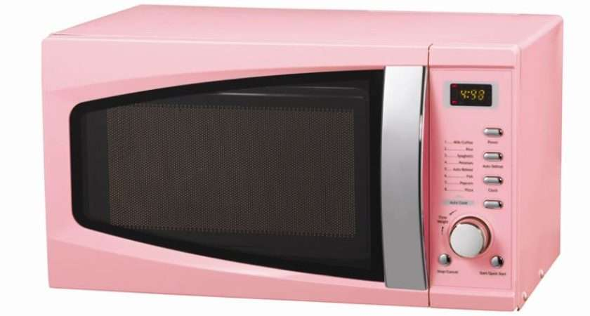 Pink Microwave Retro Micro Ondes