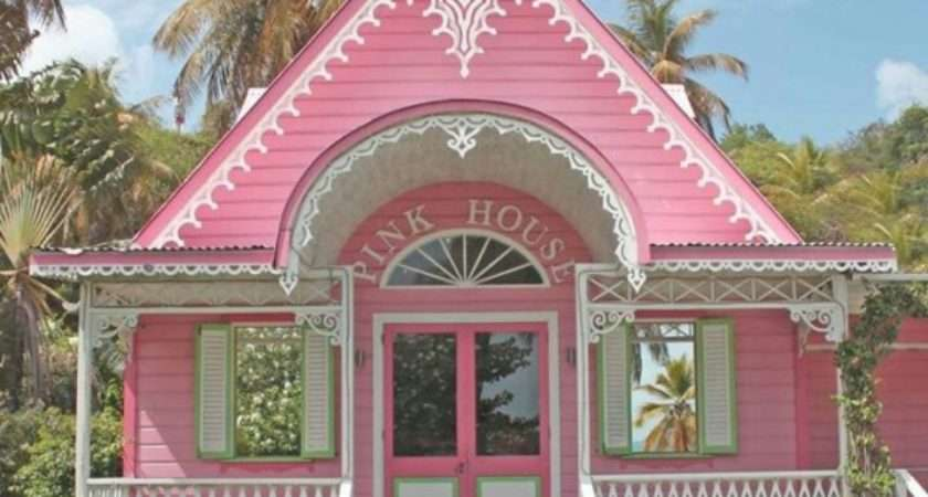Pink Princess Tiny Cottage House Pins