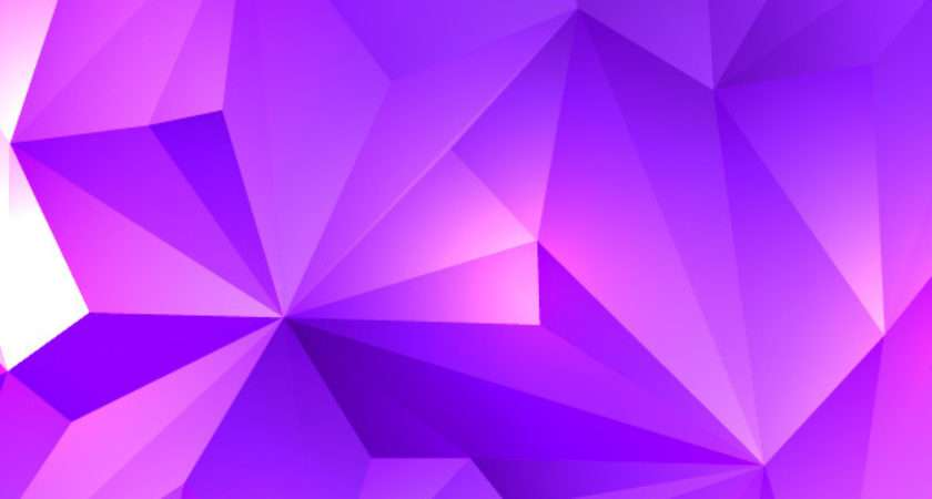 Pink Purple Polygonal Abstract Design