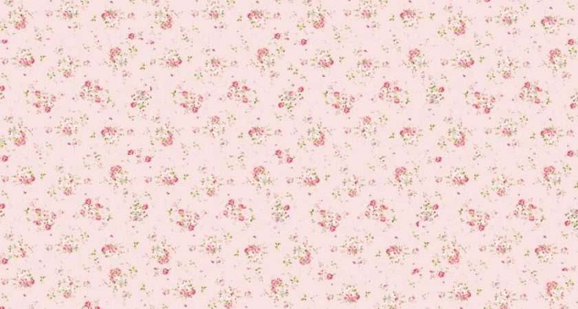 Pink Roses Shabby Chic Dollhouse Printers Landscape