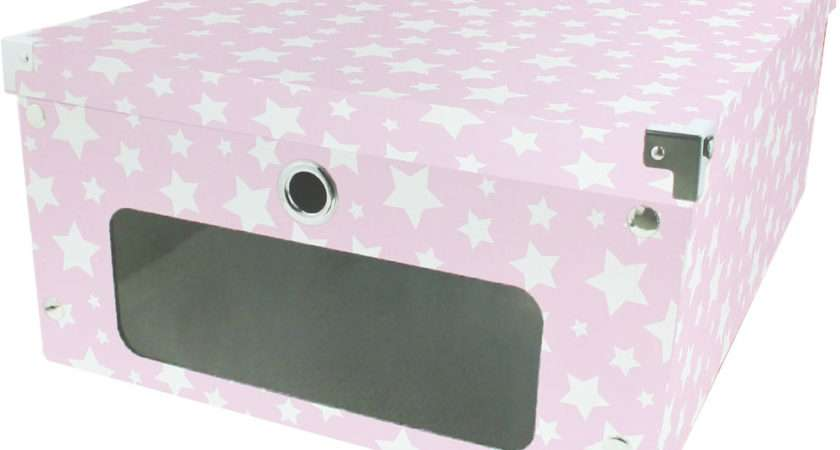 Pink Stars Under Bed Storage Box Boxes Works