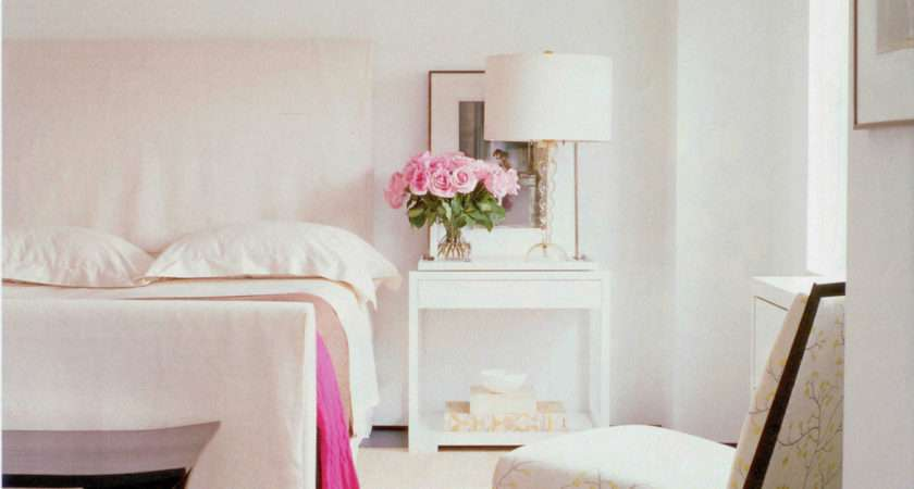 Pink White Bedroom Rose Centerpiece Sweetest Occasion