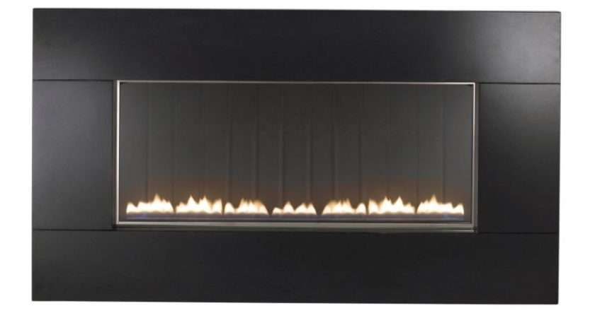 Pinoir Black Granite Flueless Wall Hung Gas Fire Customer