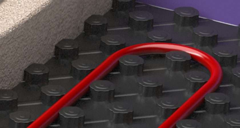 Pipes Wet Underfloor Heating Systems Warmup