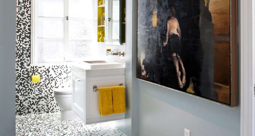 Pixilated Bathroom Design Made Custom Mosaic Tile Digsdigs
