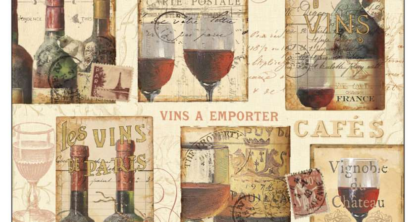 Placemats Pimpernel French Cellar Large