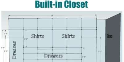 Plan Design Built Closet Sawdust Girl