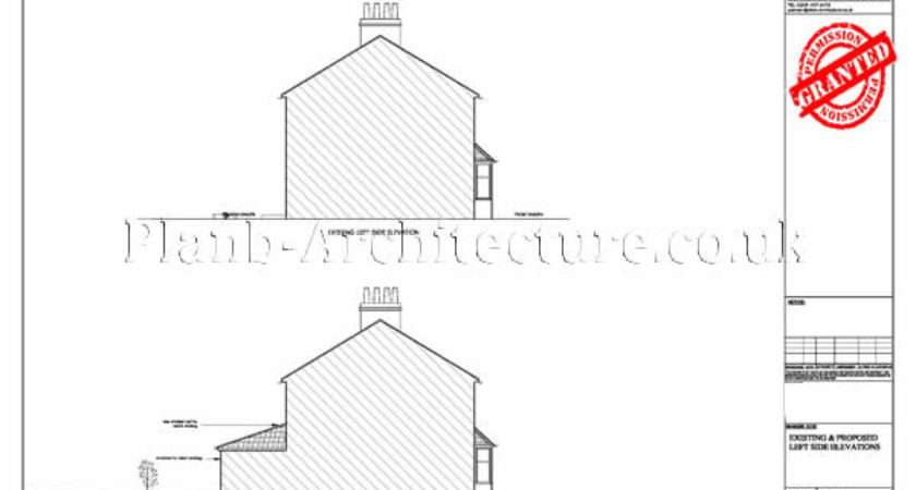 Planning Drawings House Extensions Detail