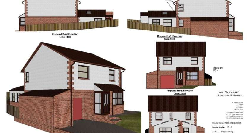 Planning Permission Drawingsian Cleasby Drafting Design