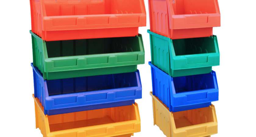 Plastic Storage Bins Containers Dexion Small Part Handling