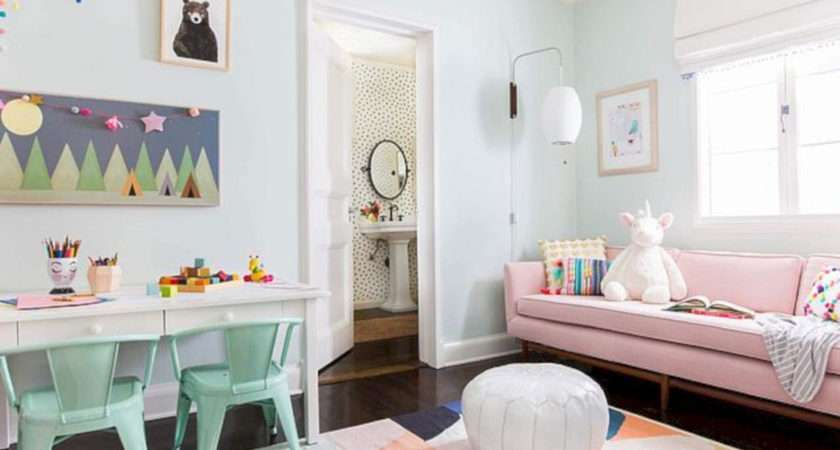 Playroom Decorating Ideas Small Space Wartaku