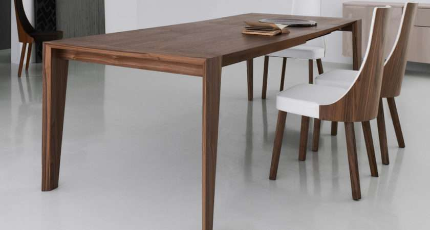 Plus Walnut Dining Table Contemporary Wooden Tables