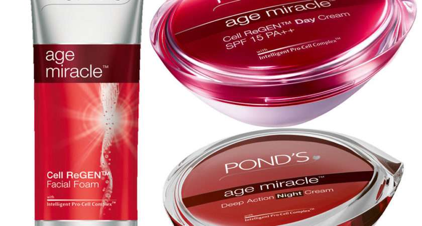 Pond Age Miracle Face Foam Deep Action Night Regen Day