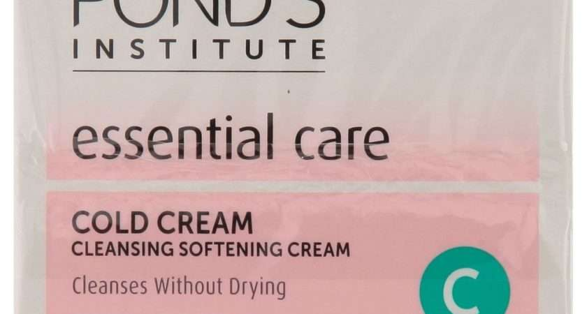 Ponds Essential Care Cold Cream Cleansing Softening