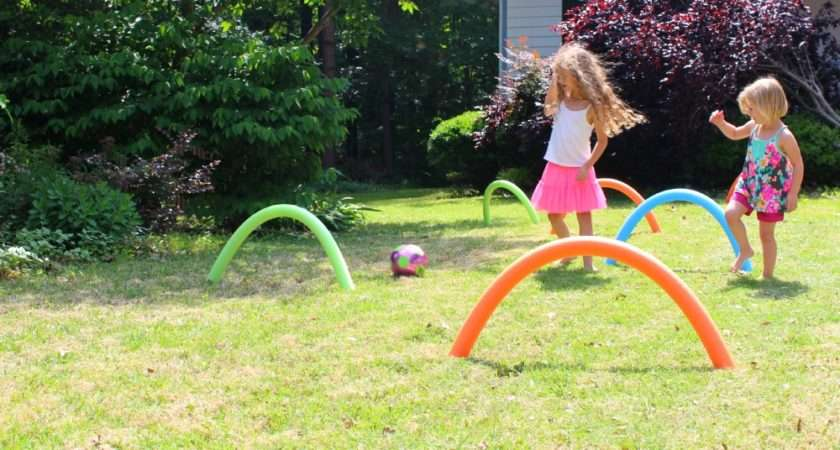 Pool Noodle Soccer Ball Croquet Down Home Inspiration