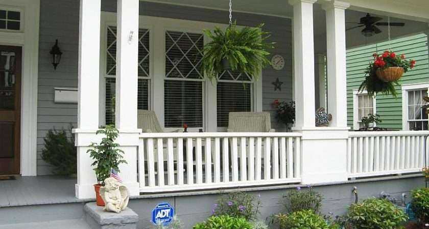 Porch Ideas Grasscloth