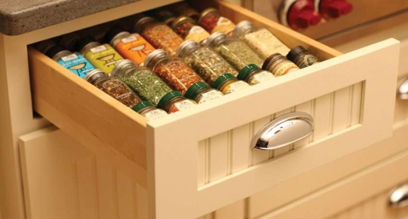 Practical Spice Storage Ideas Small Kitchens Room