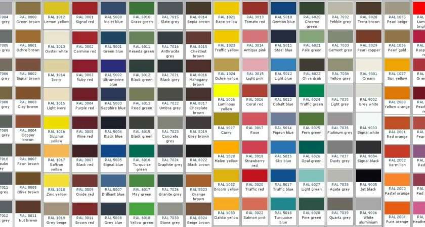 Prattville Powder Coating Colors