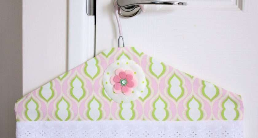 Pretty Coat Hangers Would Make Lovely Mother Day Gift