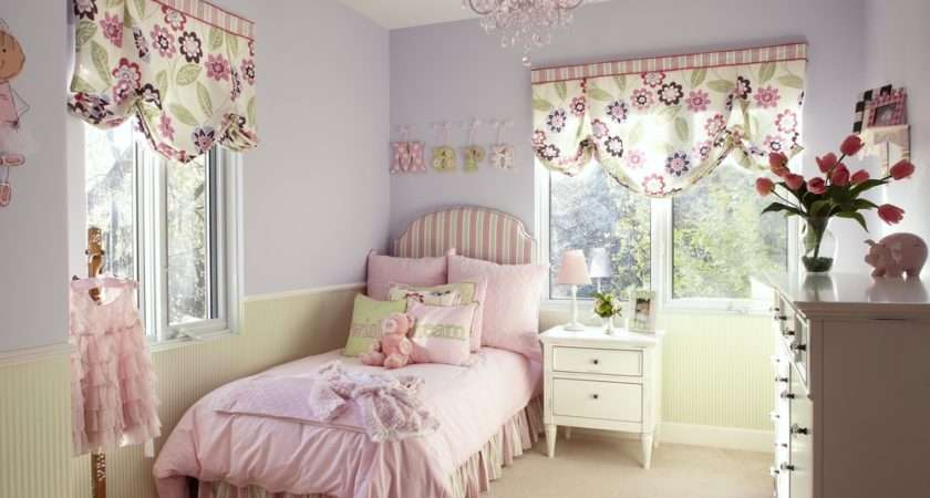 Pretty Pink Chandelier Girls Room Homesfeed