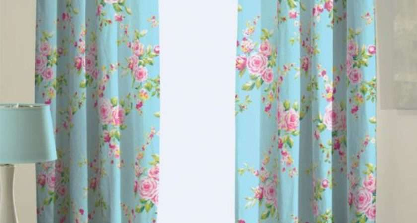 Pretty Shabby Chic Curtains Catherine Lansfield
