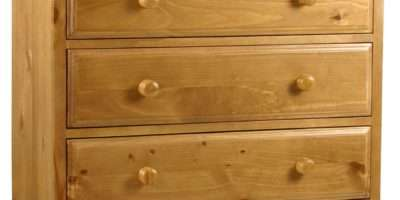 Primrose Solid Chunky Pine Bedroom Furniture Over