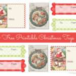 Printable Chic Vintage Christmas Gift Frugalful