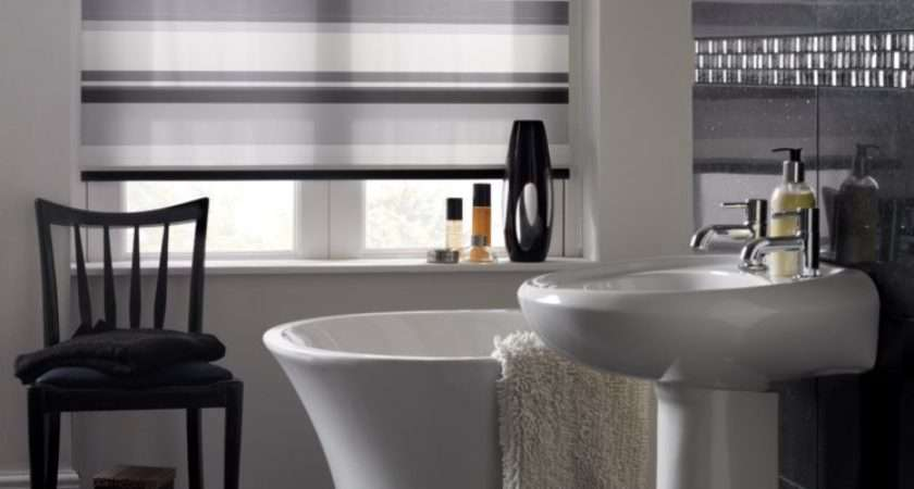 Product Spotlight Splash Letterbox Noir Roller Blind