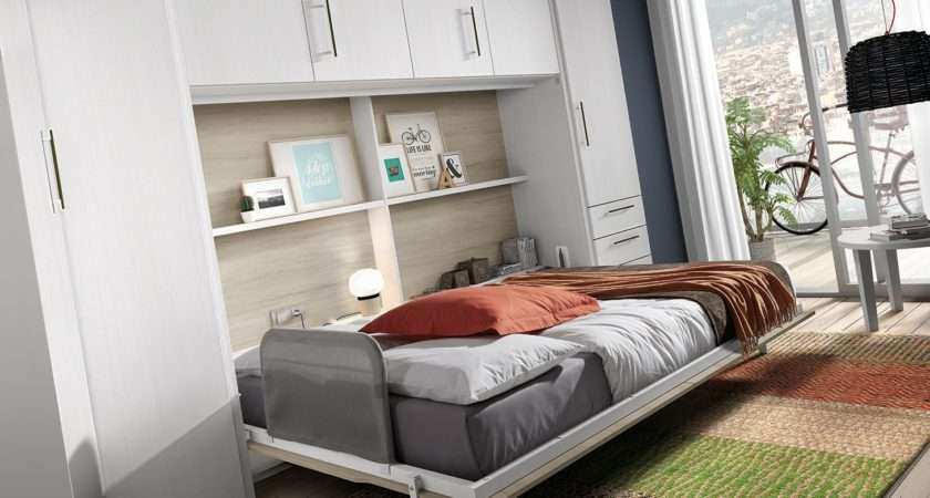 Products Space Saving Beds Wall Desk