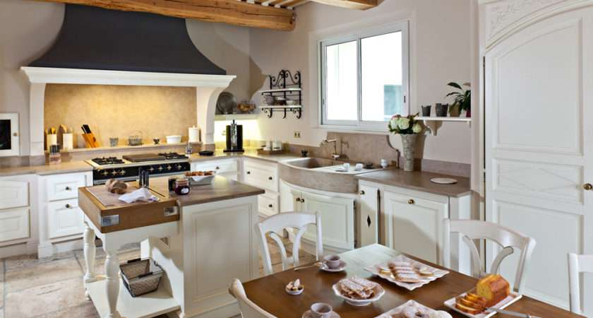 Provencal Style Kitchens Pez Homemade Loriol Comtat Provence