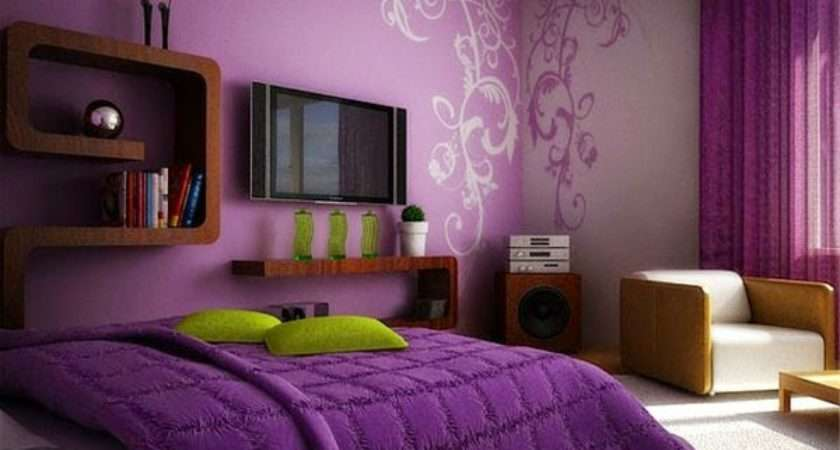 Purple Bedroom Ideas Curtains Accessories Paint