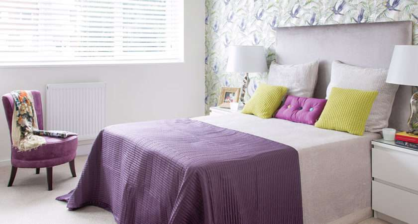 Purple Bedroom Ideas Decor Colour